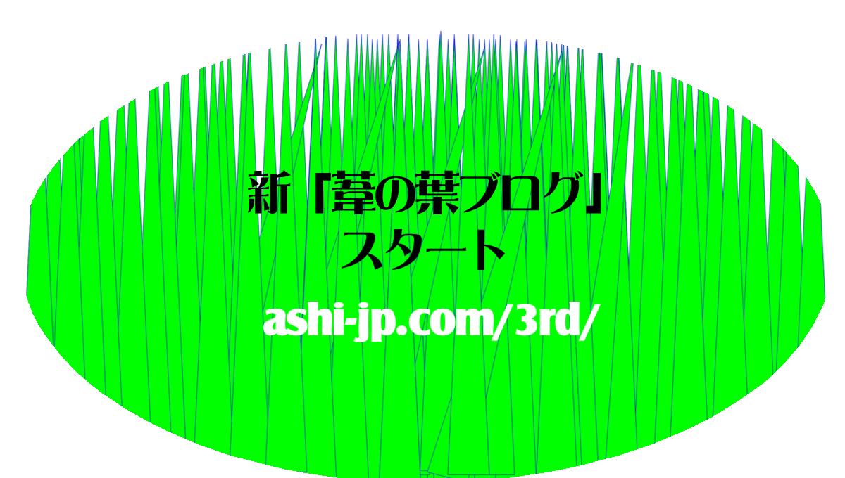 葦の葉ブログ3rd